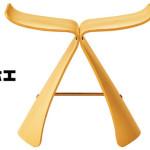 天童木工バタフライスツール