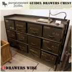 GUIDEL 12DRAWERS CHEST WIDE