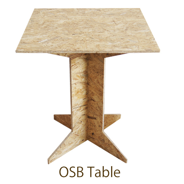 GARAGE STYLE OSB TABLE