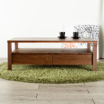 天然木無垢材のforesリビングテーブル