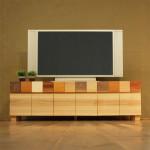 TVボード PICASSO-1500 ナチュラル色